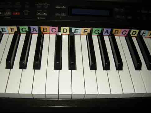 Piano Keyboard Nivea