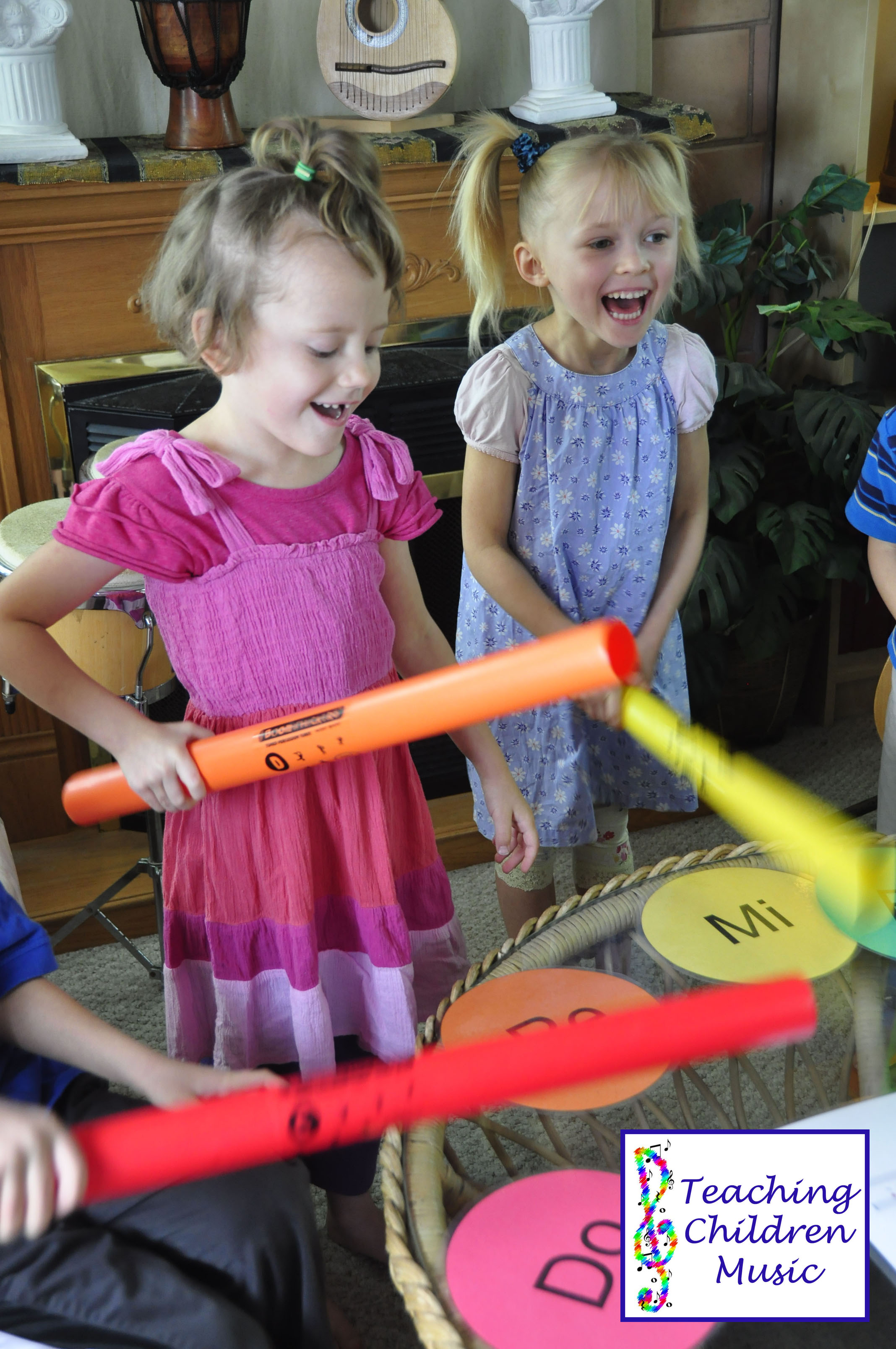 girls boomwhackers