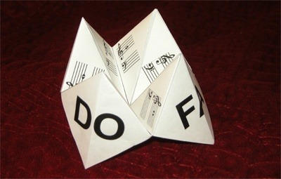 "Origami ""Cootie Catchers"" Printout"