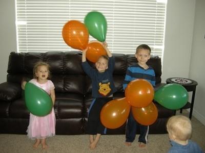 musical balloon activities