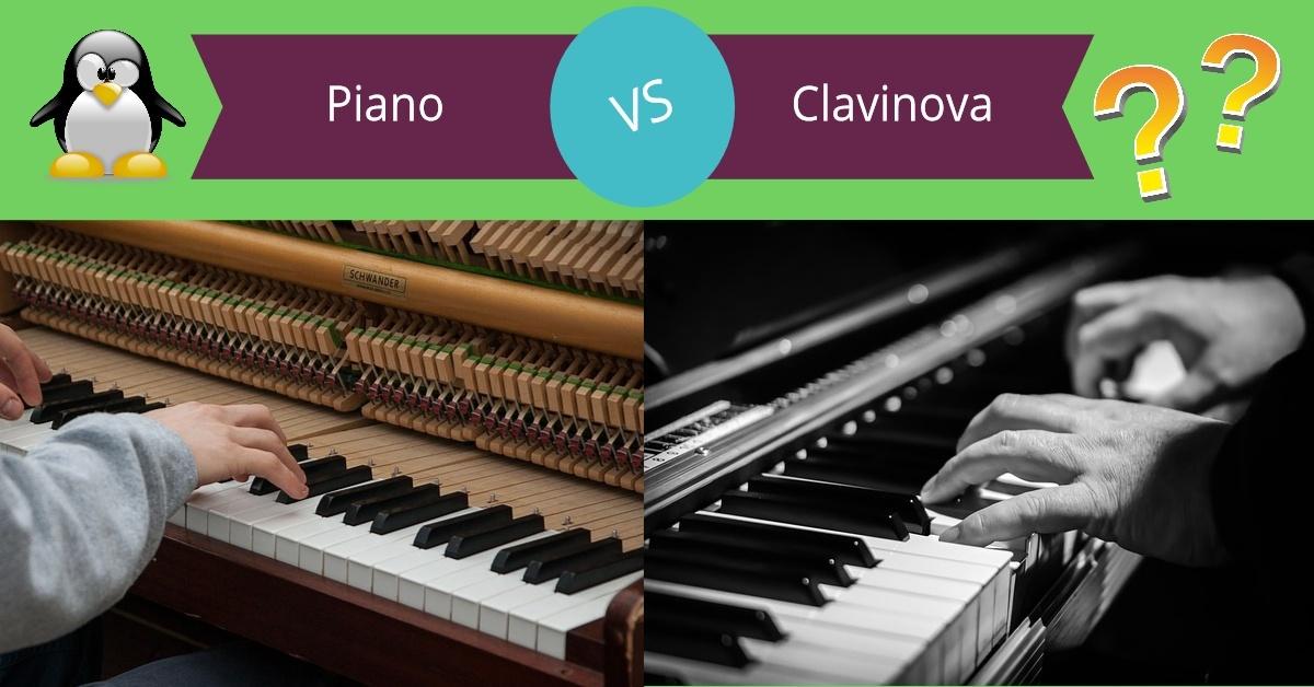 piano vs clavinova