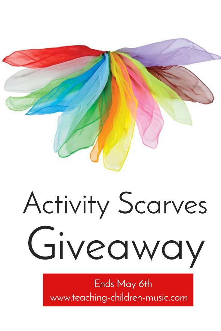 Activity Scarves Giveaway