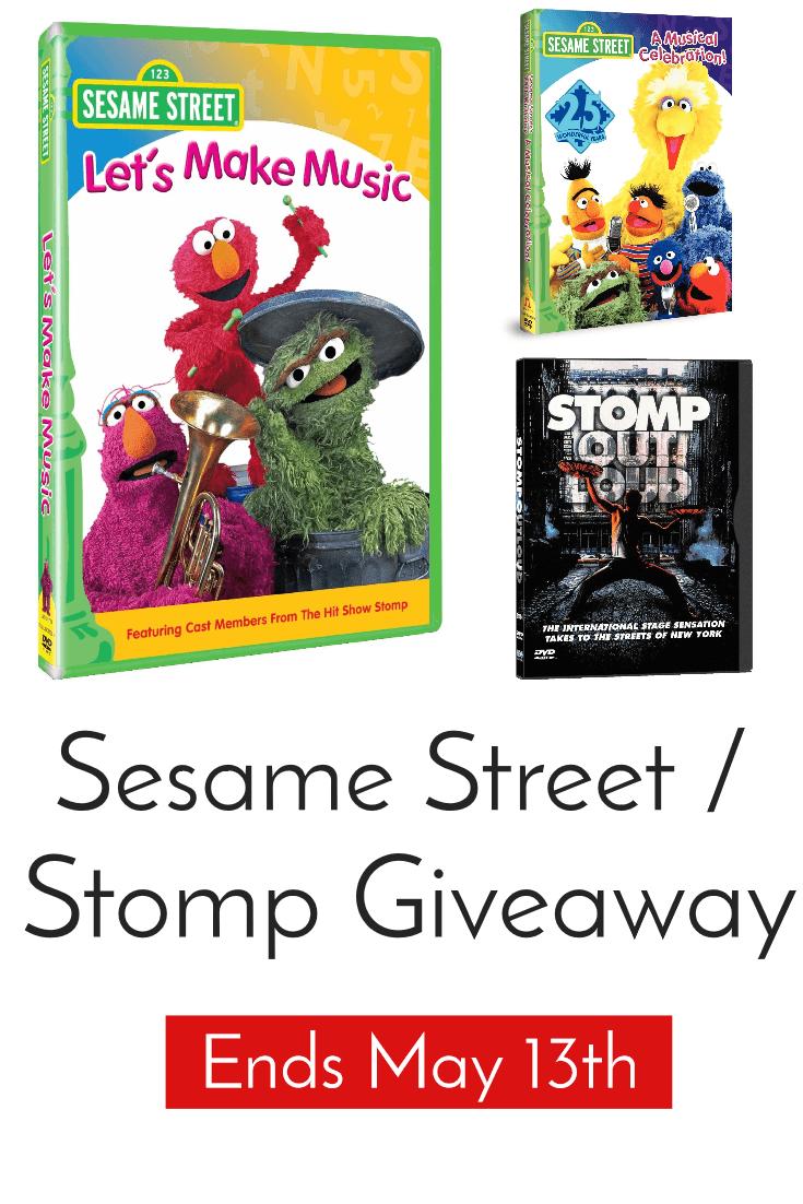 sesame street stomp giveaway