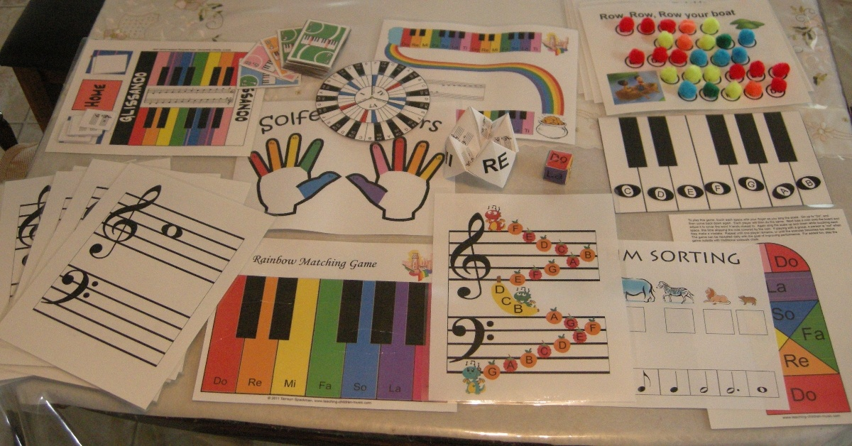 games for music-teachers